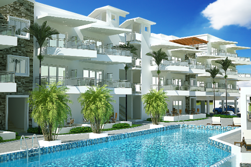 Beach Front 2 bedroom Apartment For Sale