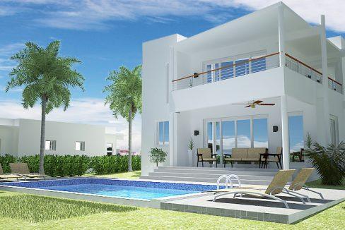 3 bedrooms house for sale sosua - Villa Rubi